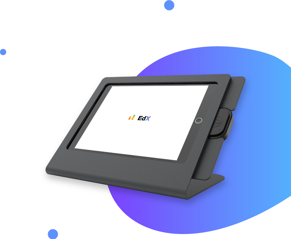 EdX tablet stand